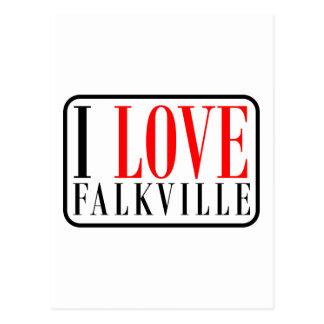 Falkville, Alabama Postcard