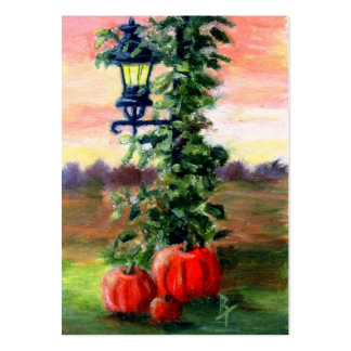 Fall aceo Art Card Pack Of Chubby Business Cards