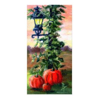 Fall aceo Rack Card Photo Card Template