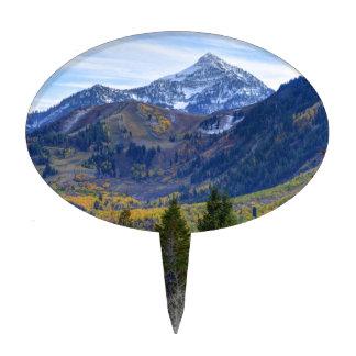 Fall At Cascade Peak And Sundance From Alpine Loop Cake Pick