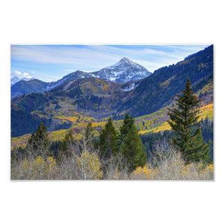 Fall At Cascade Peak And Sundance From Alpine Loop Photo