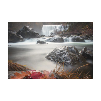 Fall at Middle falls Canvas Print