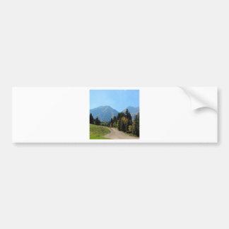Fall at Sundance Ski Resort Bumper Sticker