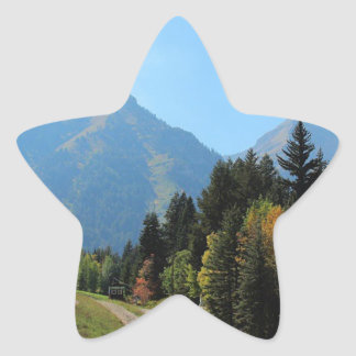Fall at Sundance Ski Resort Star Sticker