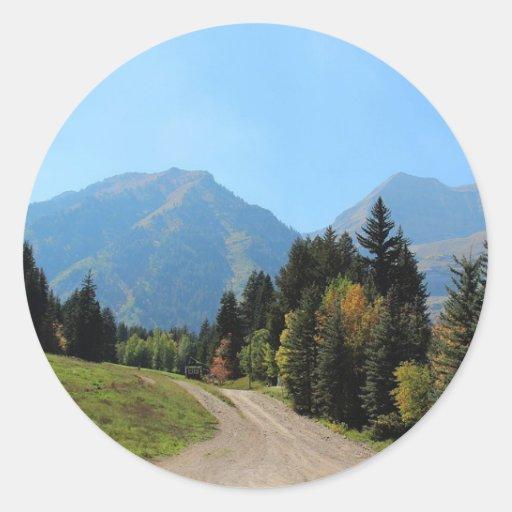Fall at Sundance Ski Resort Stickers