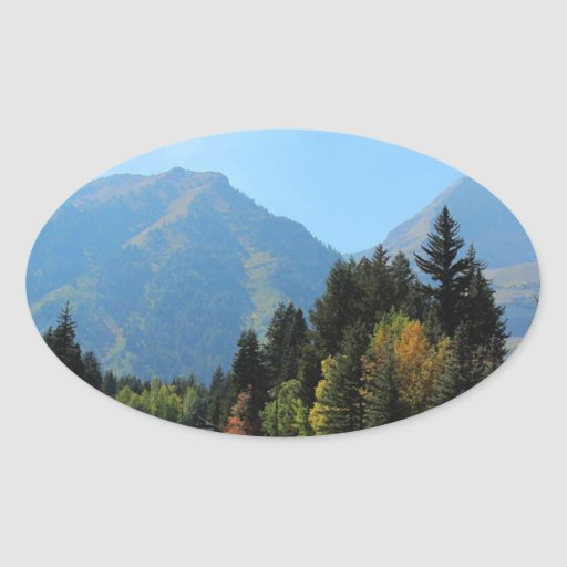 Fall at Sundance Ski Resort Sticker