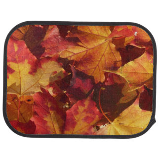 Fall Autumn Leaves Car Mat