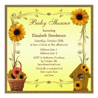 sunflower baby shower gifts t shirts art posters other gift
