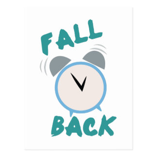 Fall Back Postcard