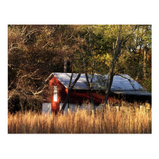 Fall Barn in Central Maryland Postcard