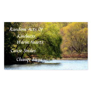 Fall Beauty Random Acts of Kindness Cards Pack Of Standard Business Cards