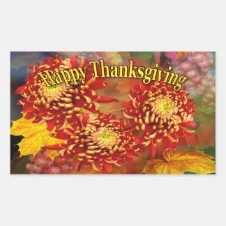 Fall Beauty ~ Rectangle Thanksgiving Sticker
