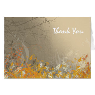 Fall Beauty Thank You Cards