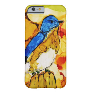 Fall blue bird barely there iPhone 6 case