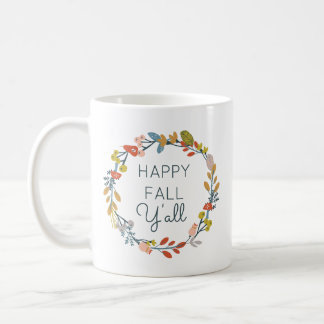 Fall Botanical Coffee Mug