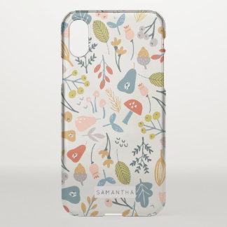 Fall Botanical iPhone X Case