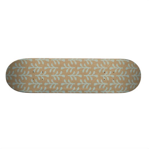 Fall Branches Pattern Skate Deck