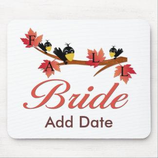 Fall Bride Mousepad