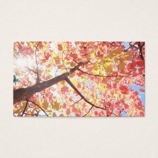 Fall Business Card