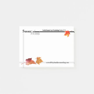 Fall Business Post-it Notes