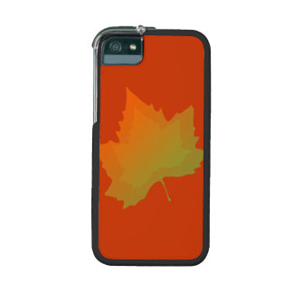 Fall Canadian Maple Leaf Autumn Season Case For iPhone 5
