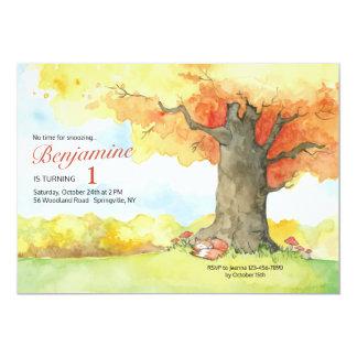 Fall Canopy Invitation