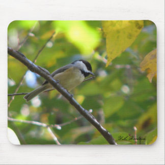 Fall Chickadee Mousepad