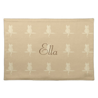 Fall Collection Funny Cat Placemat