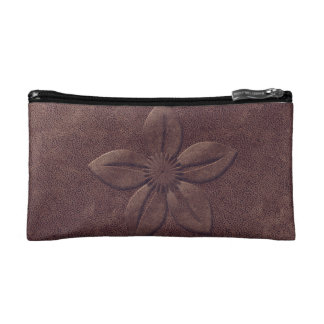 Fall Collection Leather Look Floral Bag