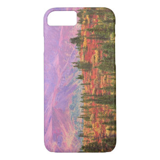 Fall color in Denali National Park iPhone 8/7 Case