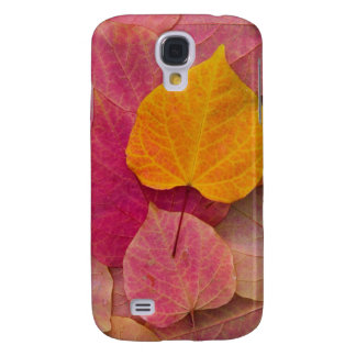 Fall color on Forest Pansy Redbud fallen Galaxy S4 Case