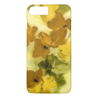 Fall colored flowers iPhone 7 plus case