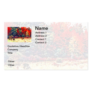 Fall Colors in New England Pack Of Standard Business Cards