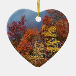 Fall Colors in the Blue Ridge Mountains Christmas Ornament