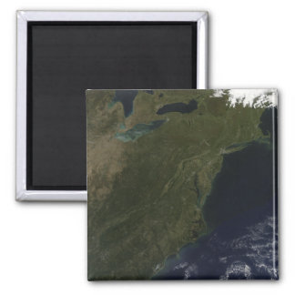 Fall colors in the northeastern United States Square Magnet