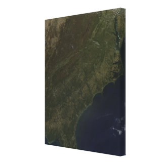 Fall colors in the southeastern United States Canvas Print