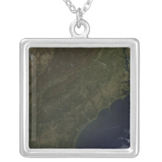 Fall colors in the southeastern United States Silver Plated Necklace