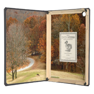Fall Colors Landscape Autumn Trees Leaves Deer iPad Air Covers