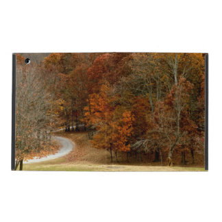 Fall Colors Landscape Autumn Trees Leaves Deer Covers For iPad