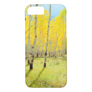 Fall colors of Aspen trees 4 iPhone 8/7 Case