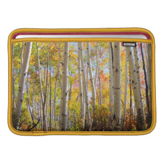 Fall colors of Aspen trees 5 Sleeve For MacBook Air