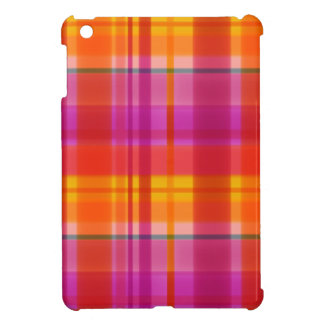 Fall Colors Plaid iPad Mini Covers