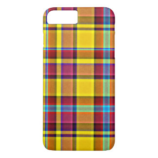 Fall Colors Plaid Tartan iPhone 8 Plus/7 Plus Case