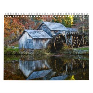 Fall Colors Wall Calendars