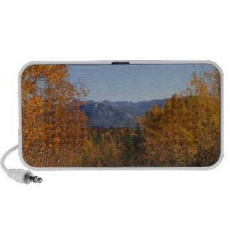 Fall Colours in the Mountains; No Text Laptop Speakers