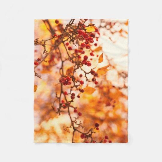 Fall colours tree nature landscape blanket decor