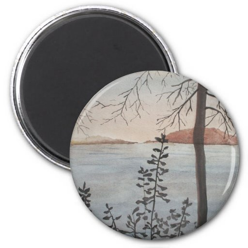 Fall Conclusion 6 Cm Round Magnet