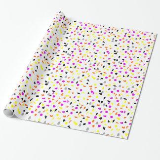 Fall Confetti Wrapping Paper