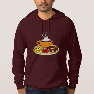 Fall Cookies, Donuts and Coffee or Cocoa Hoodie
