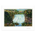Fall Creek Gorge View, Ithaca Falls Scene Postcard